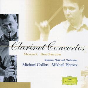 Michael Collins, Russian National Orchestra, Mikhail Pletnev 歌手頭像