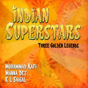 Mohammad Rafi, Manna Dey, K L Saigal 歌手頭像