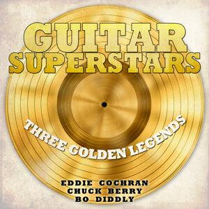 Eddie Cochran, Chuck Berry, Bo Diddly 歌手頭像