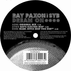 Ray Paxon feat. Syb 歌手頭像