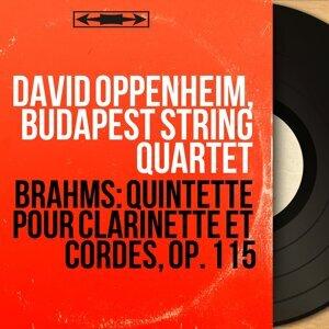 David Oppenheim, Budapest String Quartet, Alexander Schneider, Joseph Roisman, Boris Kroyt, Mischa Schneider 歌手頭像