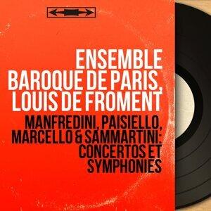 Ensemble baroque de Paris, Louis de Froment 歌手頭像