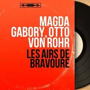 Magda Gabory, Otto von Rohr 歌手頭像