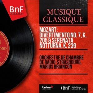 Orchestre de chambre de Radio-Strasbourg, Marius Briançon 歌手頭像