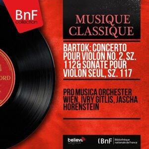 Pro Musica Orchester Wien, Ivry Gitlis, Jascha Horenstein 歌手頭像