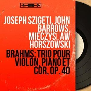 Joseph Szigeti, John Barrows, Mieczysław Horszowski 歌手頭像