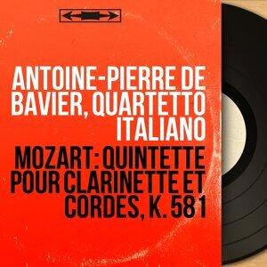 Antoine-Pierre de Bavier, Quartetto italiano, Paolo Borciani, Elisa Pegreffi, Piero Farulli, Franco Rossi 歌手頭像