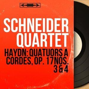 Schneider Quartet, Alexander Schneider, Isidore Cohen, Karen Tuttle, Madeline Foley 歌手頭像