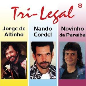Jorge de Altinho, Nando Cordel, Novinho Da Paraíba 歌手頭像