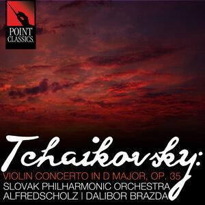 Slovak Philharmonic Orchestra, Alfred Scholz, Dalibor Brazda 歌手頭像
