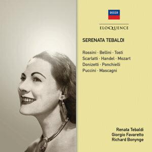 Renata Tebaldi, Giorgio Favaretto, Richard Bonynge 歌手頭像