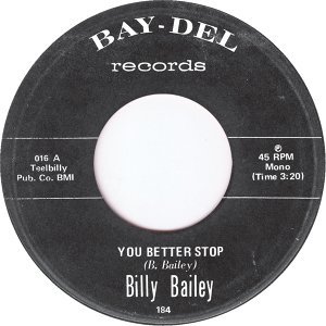 Billy Bailey 歌手頭像