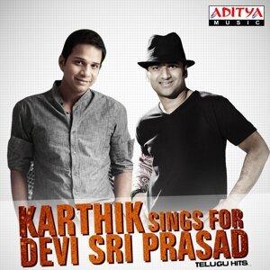 Devi Sri Prasad, Karthik 歌手頭像