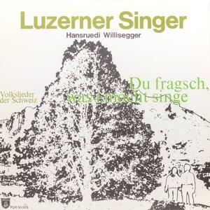 Luzerner Singer, Hansruedi Willisegger 歌手頭像
