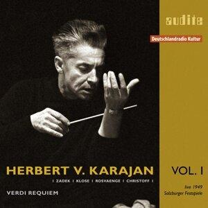 Herbert von Karajan, Wiener Philharmoniker, Wiener Singverein, Hilde Zadek, Margarete Klose, Helge Rosvaenge & Boris Christoff 歌手頭像