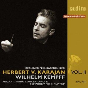 Wilhelm Kempff, Berliner Philharmoniker & Herbert von Karajan 歌手頭像
