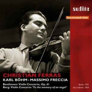 Christian Ferras, Berliner Philharmoniker, Karl Böhm, RIAS-Symphonie-Orchester & Massimo Freccia 歌手頭像