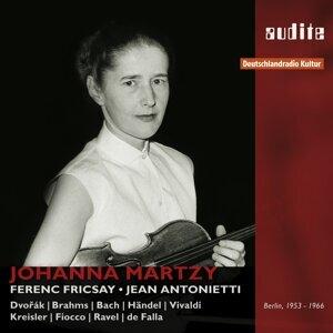 Johanna Martzy, Jean Antonietti & Ferenc Fricsay 歌手頭像