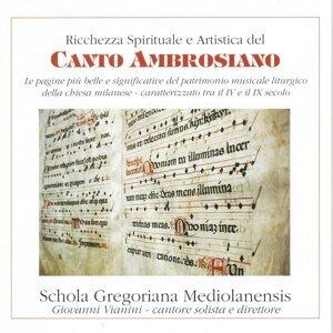 Schola Gregoriana Mediolanensis, Giovanni Vianini 歌手頭像