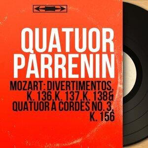 Quatuor Parrenin, Jacques Parrenin, Marcel Charpentier, Serge Collot, Pierre Penassou 歌手頭像