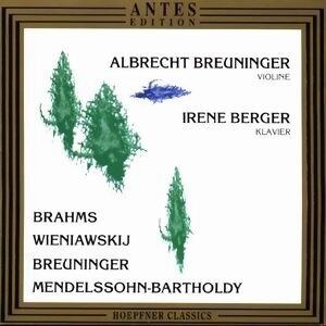 Albrecht Breuninger, Irene Berger 歌手頭像