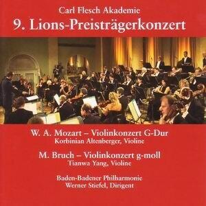 Baden-Badener Philharmonie, Korbinian Altenberger, Tianwa Yang アーティスト写真
