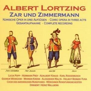 Chor des Bayerischen Rundfunks, Hermann Prey, Heinz Wallberg, Werner Krenn アーティスト写真