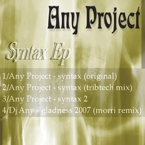Any Project 歌手頭像
