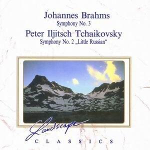 """Johannes Brahms: Sinfonie Nr. 3, F-Dur, op. 90 & Peter Iljitsch Tchaikovsky: Sinfonie Nr. 2, """"Kleinrussische"""", C-Moll, op. 17 歌手頭像"""