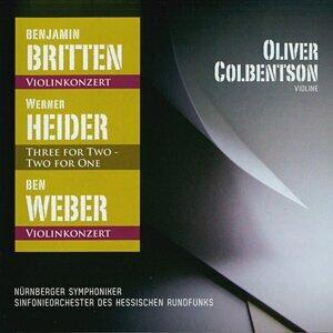 Oliver Colbentson, Werner Heider, Otto Matzerath, Nürnberger Symphoniker, The Frankfurt Radio Symphony 歌手頭像