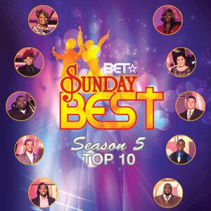 BET Sunday Best Season 5 Top 10 歌手頭像