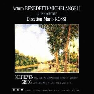 Arturo Benedetti Michelangelo, RAI Symphonie-Orchester Rom, Mario Rossi 歌手頭像