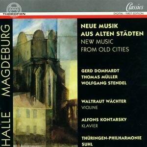 Thüringen-Philharmonie Suhl, Waltraut Wächter, Alfons Kontarsky 歌手頭像