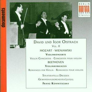 David Oistrach, Igor Oistrach, Staatskapelle Dresden, Gewandhausorchester Leipzig, Franz Konwitschny 歌手頭像