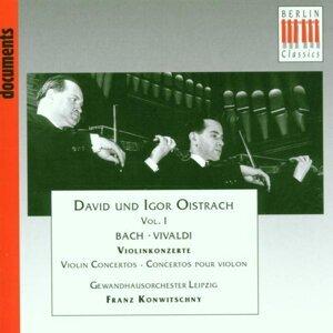 David Oistrach, Igor Oistrach, Leipzig Gewandhaus Orchestra, Staatskapelle Berlin, Franz Konwitschny 歌手頭像