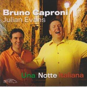 Bruno Caproni, Julian Evans 歌手頭像