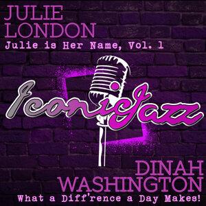 Dinah Washington, Julie London 歌手頭像