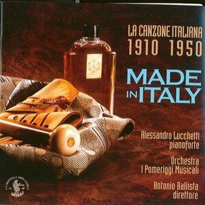 Orchestra I Pomeriggi Musicali, Antonio Ballista, Alessandro Lucchetti 歌手頭像