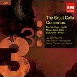The Great Cello Concertos アーティスト写真