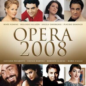 Opera 2008 歌手頭像