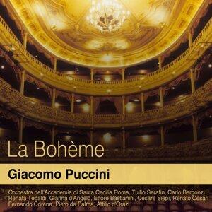 Orchestra dell'Accademia di Santa Cecilia Roma, Tullio Serafin, Carlo Bergonzi 歌手頭像