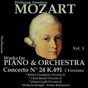 Robert Casadesus, Clara Haskil, Glenn Gould, Wilhelm Kempff, Arthur Rubinstein 歌手頭像