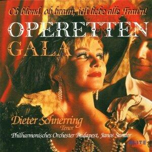 Dieter Schnerring, Philharmonisches Orchester Budapest, Janos Sandor