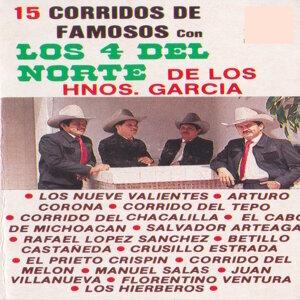 Los 4 Del Norte: Los Hermanos Garcia 歌手頭像