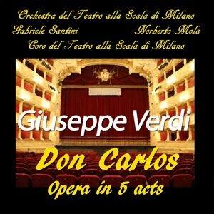 Orchestra del Teatro alla Scala di Milano, Gabriele Santini, Coro del Teatro alla Scala di Milano, Norberto Mola 歌手頭像