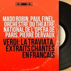 Mado Robin, Paul Finel, Orchestre du Théâtre national de l'Opéra de Paris, Pierre Dervaux 歌手頭像