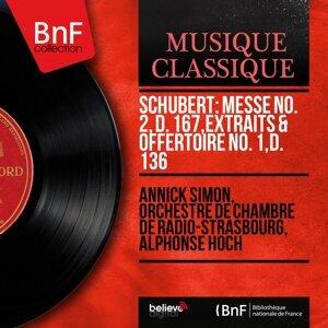 Annick Simon, Orchestre de chambre de Radio-Strasbourg, Alphonse Hoch 歌手頭像