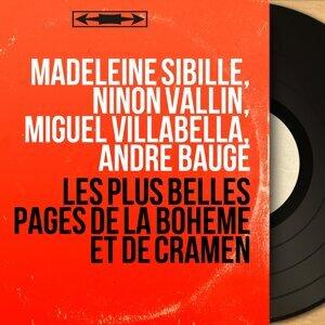 Madeleine Sibille, Ninon Vallin, Miguel Villabella, André Baugé 歌手頭像