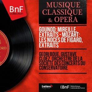 Géori Boué, Gustave Cloëz, Orchestre de la Société des concerts du Conservatoire 歌手頭像