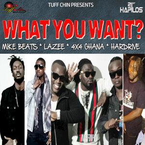 Mike Beats, Lazee, 4x4 Ghana, Hardrive, Mike Beats, Lazee, 4x4 Ghana, Hardrive 歌手頭像